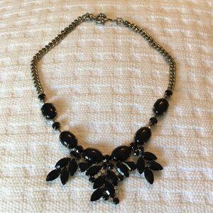 J. Crew Jewelry - Black Statement necklace